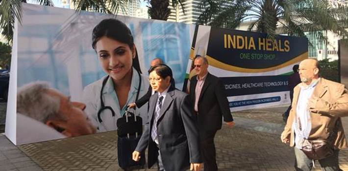 Brand India makes its presence felt at Arab Health 2017