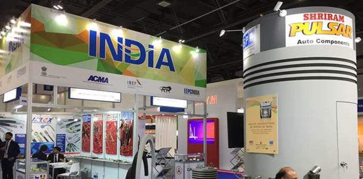 India makes its presence felt at Automechanika Dubai 2017