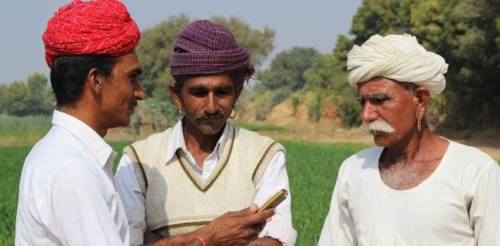Achieving India's financial inclusion goals using mobile podcasts