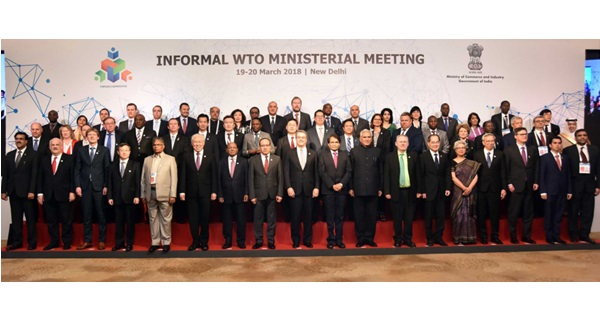 India hosts Informal WTO Ministerial Meeting