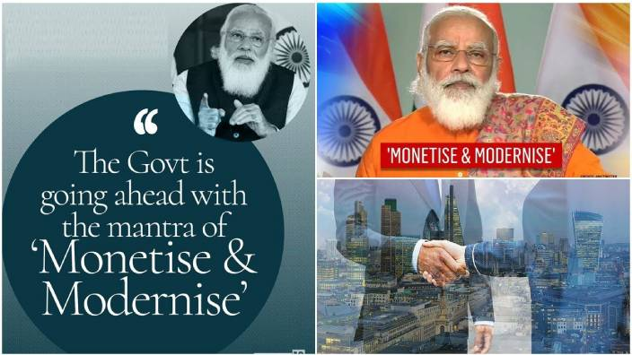 'Monetise and Modernise' is the PM's mantra for govt. assets