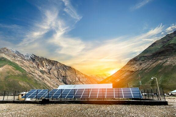 Solar energy generation in India: Lighting lives!