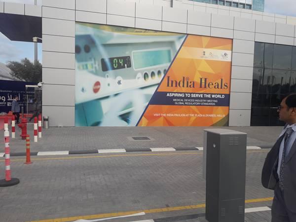 India at Arab Health 2018