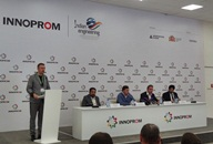 Press Conference at INNOPROM