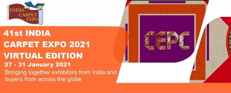 41st India Carpet Expo - Virtual Edition