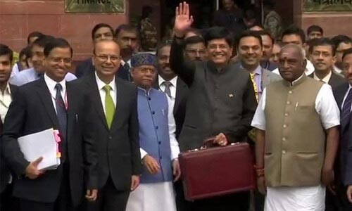 Interim Union Budget 2019-20